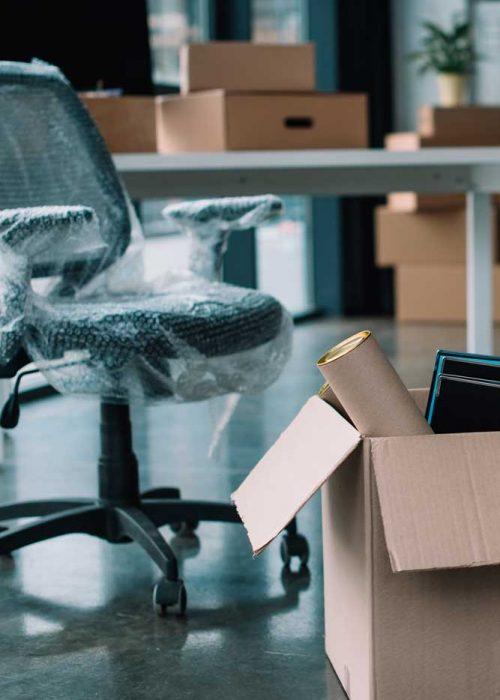 Déménagement d'entreprise, de locaux commerciaux ou de bureaux