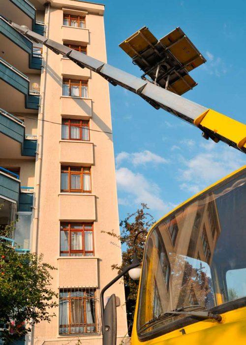 Déménagement Gérard & fils c'est aussi un service de location de lift